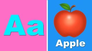 Phonics Song for Kids | A for Apple | ABC Alphabet learning with sound | Sing with Abi