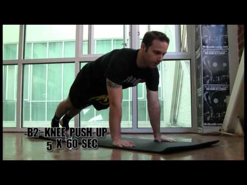 Bodyweight Conditioning Workout for Muay Thai Kickboxing Image 1