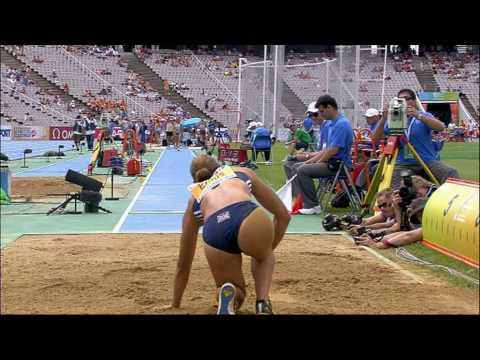 Jessica Ennis Long Jump Heptathlon
