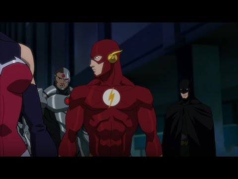 Justice League vs. Teen Titans Clip