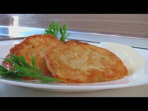 Картофельные оладьи (на дрожжах) видео рецепт. Книга о вкусной и здоровой пище