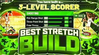 NBA 2K20 BEST STRETCH BIG BUILD!