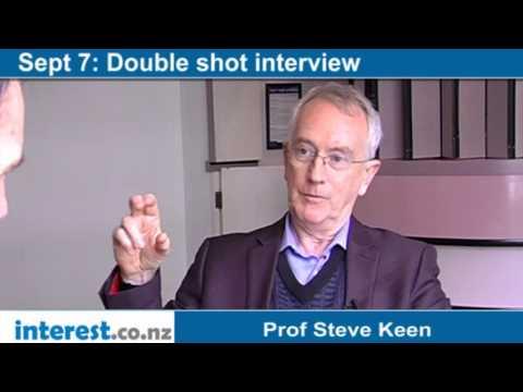 Double Shot Interview: Prof Steve Keen with Bernard Hickey
