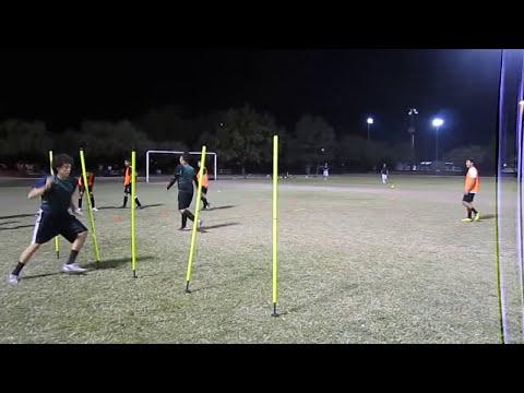 NIKE SPARK futbol entrenamiento de velocidad