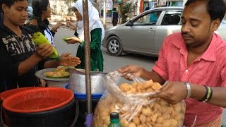 Tasty Fuska | Pani Puri | 10 Pec 10 Taka Only || Fuska Popular Street Food In Bangladesh