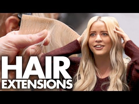 Lily Gets Hair Extensions!?! (Beauty Trippin)