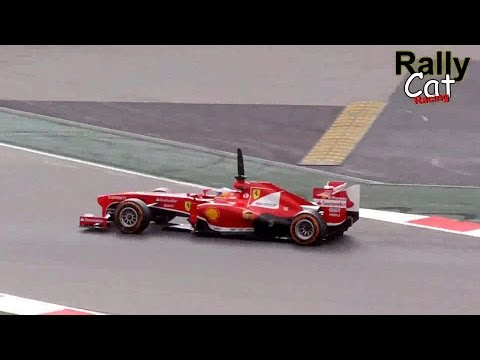 2013 F1 Test Day Montmeló (Circuit de Catalunya) V8 sound [HD]