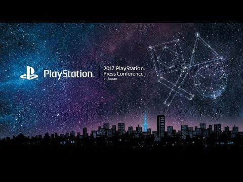 """2017 PlayStation® Press Conference in Japan�(English)"