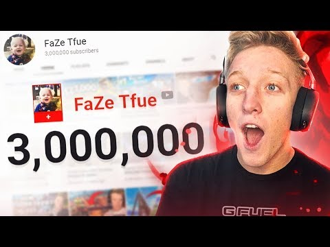 Thank you for 3 million subscribers (Fortnite Highlights)