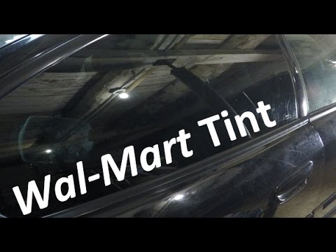How To Walmart Tint Your Windows   Subaru Outback XT