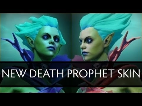 Dota 2 New Death Prophet Skin (side by side comparison)