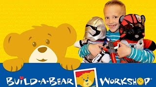 David's First Build-a-Bear!
