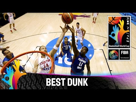 Croatia V Philippines - Best Dunk - 2014 Fiba Basketball World Cup video