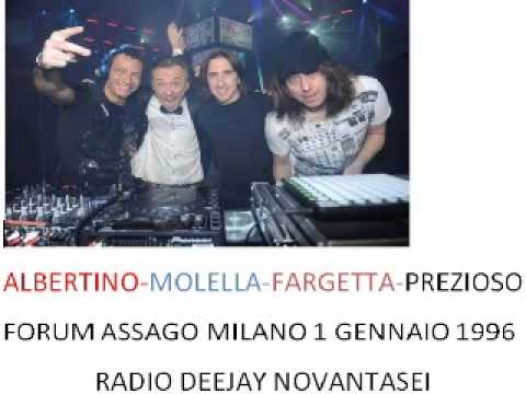 radio deejay novantasei capodanno forum assago milano 1 1 1996