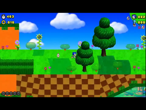 Sonic Lost World 2D(Leer Descripcion)
