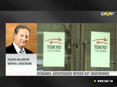 Hellmeyer: Zuversicht für Aktienmärkte ist ausgesproc