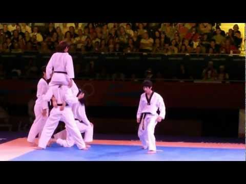 London Olympics 2012 Taekwondo WTF Demonstration Team