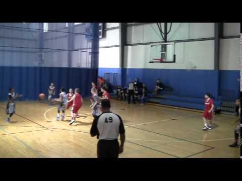 20150110 KC Heat Basketball Winter Wonderland Game 1