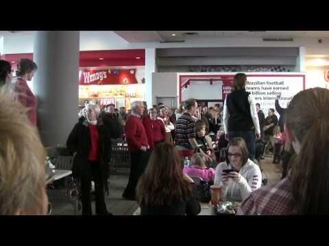 FLASH MOB at Crossgates Mall- Hallelujah Chorus