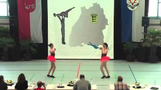 Lea Gauermann & Michelle Lederer - Ländle Cup 2015
