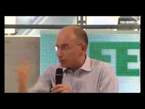 Enrico Letta Intervista a Festa Partito Democratico Genova : Video Presidente del Consiglio