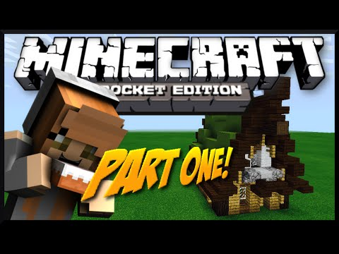 0.9.5 Lots O Detail House Tutorial Pt.1 Minecraft Pocket Edition