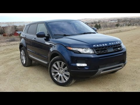 2014 Range Rover Evoque 9-speed 0-60 MPH Review
