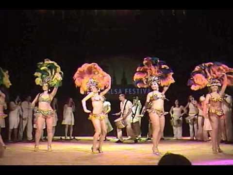 Riga Salsa Festival 2010. Sausan Dance Company & Samba de Riga & P.I.I.S. Show