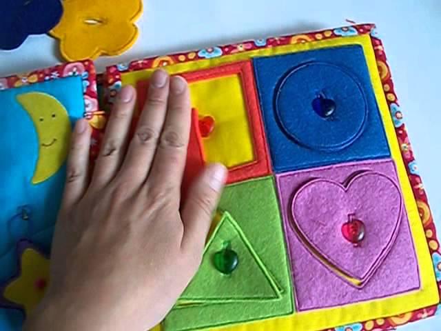 Шьем развивающие книжки для детей своими руками
