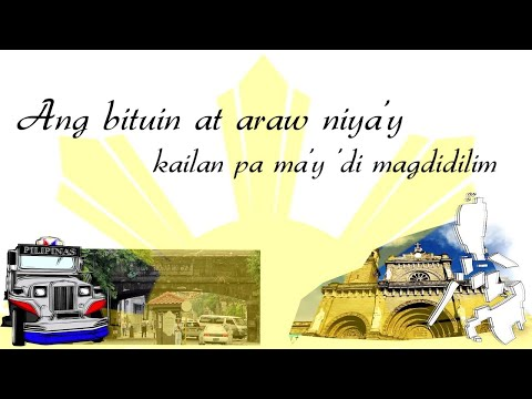 Philippine National Anthem: Lupang Hinirang video