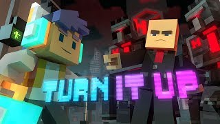 "Download Lagu ♪ ""Turn It Up"" - A Minecraft Original Music Video/Song ♪ Gratis STAFABAND"