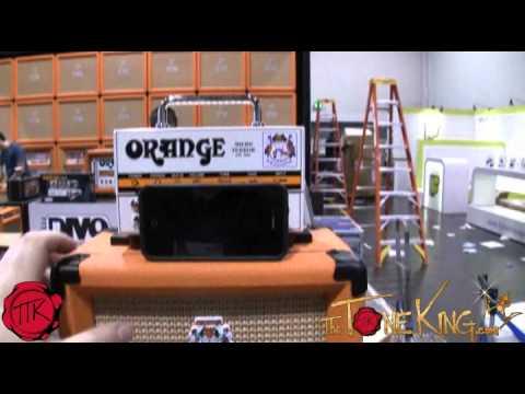 Orange Amps - NAMM 2012 (Pre-Show Set-Up) Micro Terror & Jim Root