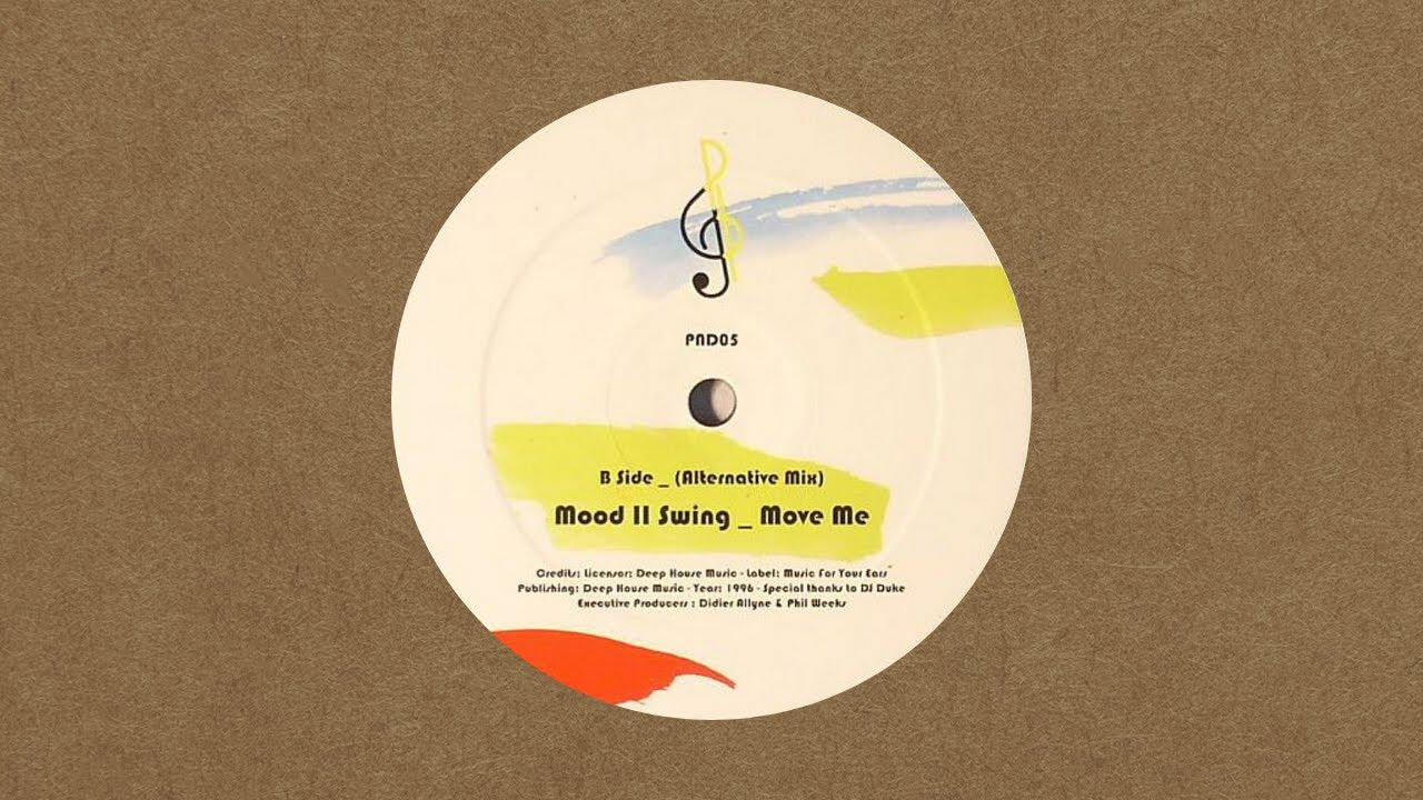 Mood II Swing - Move Me (Remastered) / Call Me (Remixes)