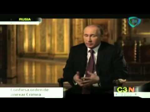 Putin ordenó anexar Crimea a Rusia antes del referéndum