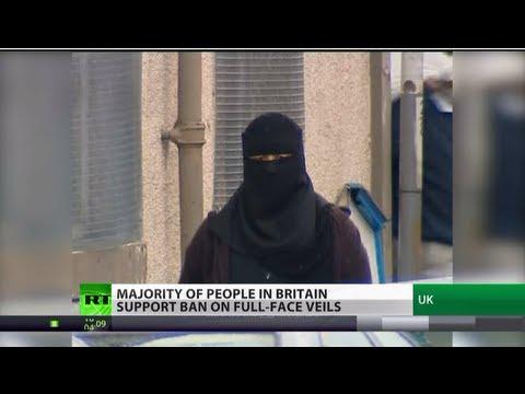 Female Face-Off: Muslim veil ban finds public support in UK