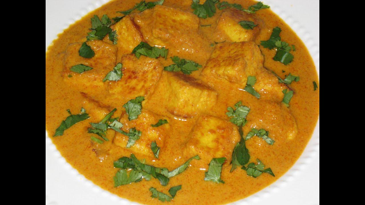 Butter paneer masala ( Paneer makhani ) recipe - YouTube