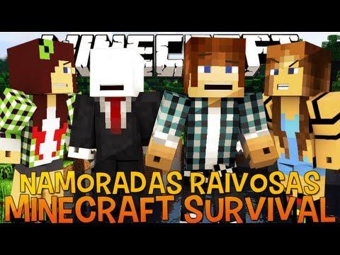 Minecraft Survival Ep.38 - Briga de Namoradas com @Ambuplay