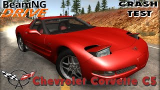BeamNG DRIVE crash test mod car Chevrolet Corvette C5