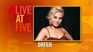 Broadway.com #LiveatFive with Orfeh