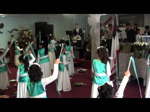 Iglesia Casa del Alfarero 19 aniversario alabanza y danza