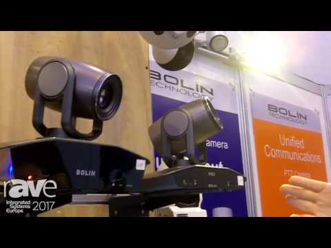 ISE 2017: Bolin Technology Outlines PTZ 4K, HD And Auto Tracking Conference Cameras