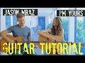 Jason Mraz - I'm Yours - GUITAR TUTORIAL w Guitar Goddess!