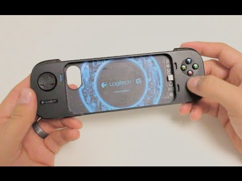 First Look: Logitech PowerShell iPhone/iPod Touch Game Controller