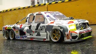 STUNNING RC DRIFT CAR ACTION!! *RC DRIFT RACE TRUCK FORD, RC SCALE DRIFT CARS