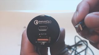 Aukey QuickCharge 3.0 and USB-C Car Charger Adapter Review