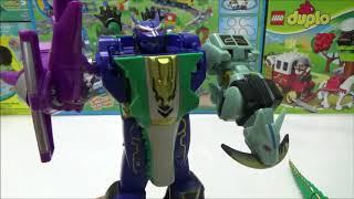 siêu nhân Robot biến hình Gao cá sấu siêu thú lắp ráp đồ chơi | Transformer Gao hunter toy