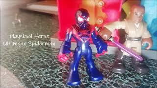 Miles Morales Unmasked Playskool Heroe - My Custom Heroes