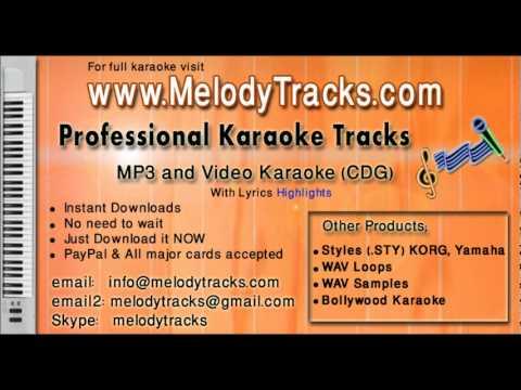 jhilmil sitaron ka aangan - Rafi KarAoke - www.MelodyTracks....