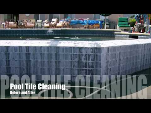 Pool Tile Cleaning   http://www.poolrehab.com/