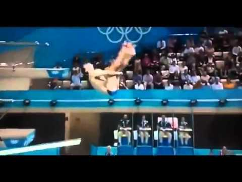 German diving fail in London 2012 Olympics, Stephen Feck